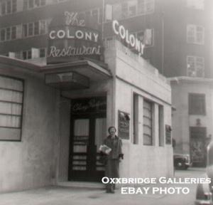 COLONY RESTAURANT XX2
